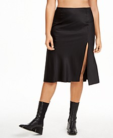 Plus Size Slip Skirt, Created for Macy's