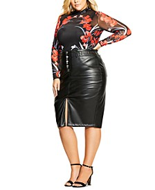 Trendy Plus Size Iris Bodysuit