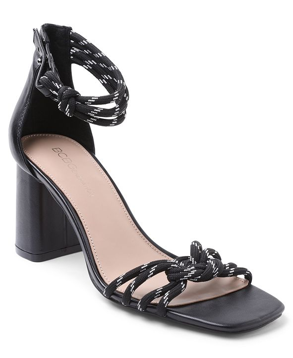 BCBGeneration Telila Block Heel Dress Sandals