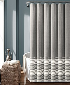 "Nantucket Yarn Dyed Cotton 72"" x 72"" Shower Curtain"