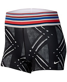 Women's Pro Dri-FIT Printed Shorts