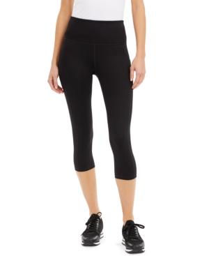 High-Rise Side-Pocket Cropped Leggings