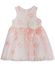 Baby Girls Embroidered Floral Dress