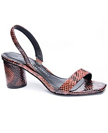 Yumi Sling Back Dress Sandals