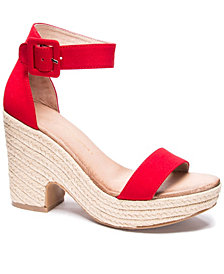 Chinese Laundry Queen Wedge Sandals
