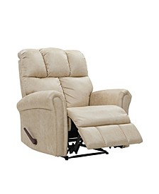 Biscuit Tufted Back Extra Large Wall Hugger Reclining Chair