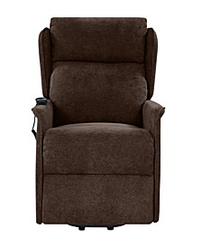 Classic Wingback Power Recline And Lift Chair