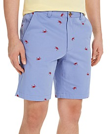 "Men's Crab Graphic 9"" Shorts, Created for Macy's"