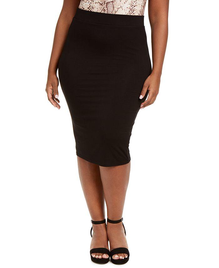 Bar III - Bodycon Midi Skirt