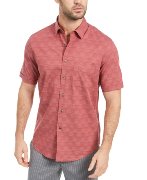 Tasso Elba Men's Cajaso Plaid Shirt, Created for Macy's