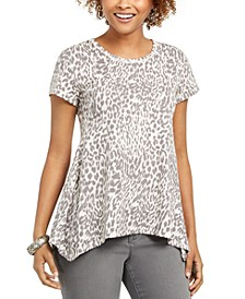 Leopard Print Top, Created For Macy's
