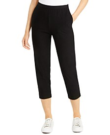 Tapered Ankle Pants, Regular & Petite Sizes