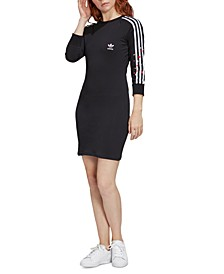 3-Stripe Heart T-Shirt Dress