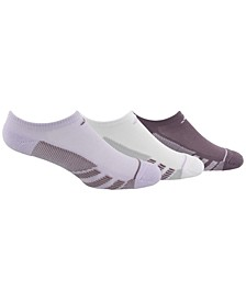 3-Pk. Superlite Stripe No-Show Women's Socks