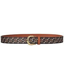 Kenton Logo-Print Belt