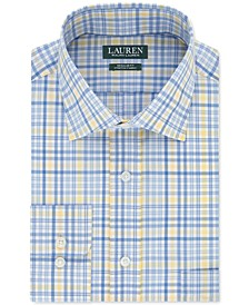 Men's Classic-Fit Heritage Multi-Check Dress Shirt