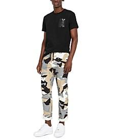 Men's Regular-Fit Stretch Desert Camouflage Flight Pants