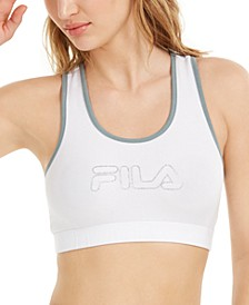 Rebeca Logo Racerback Low-Impact Sports Bra