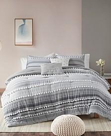 Calum 5-Piece Full/Queen Comforter Set