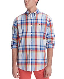 Men's Stretch Eames Plaid Shirt