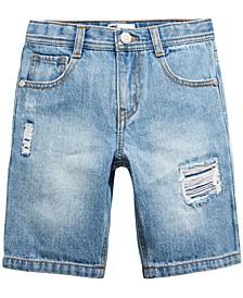 Toddler Boys Capri Wash Denim Shorts