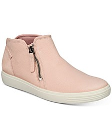 Women's Soft 7 Zip Booties