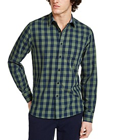 Men's Rama Check Shirt, Created for Macy's