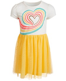 Toddler Girls Rainbow Heart Tutu Dress, Created for Macy's