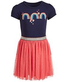 Toddler Girls Rainbow-Print Tutu Dress, Created for Macy's
