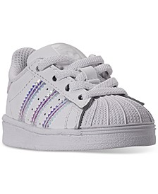 Toddler Girls Superstar Casual Sneakers from Finish Line