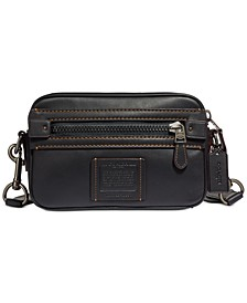 Men's Academy Leather Crossbody Bag
