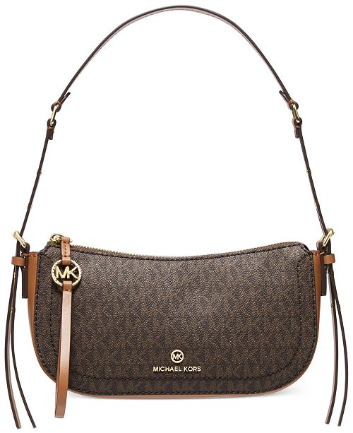 Michael Kors Camden Leather Shoulder