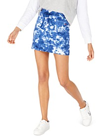 Tie-Dye Mini Skirt, Created for Macy's
