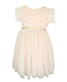 Baby Girl Dots Tulle Dress
