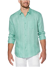 Men's Solid Linen Shirt