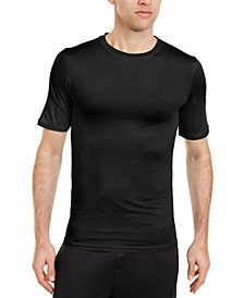 Men's Solid Short Sleeve Rash Guard, Created for Macy's