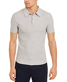 Men's Slim-Fit Mesh Polo Shirt