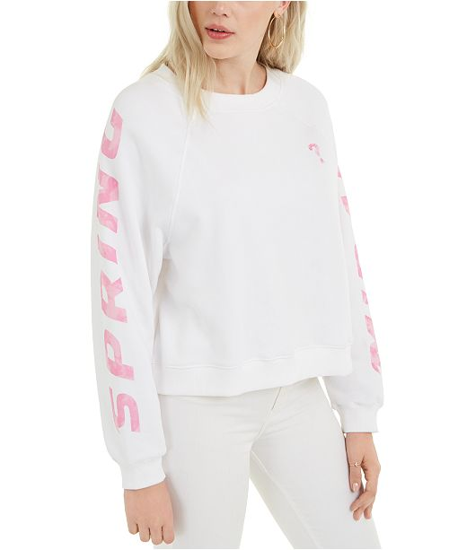 GUESS Jana Fleece Graphic Sweatshirt