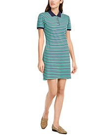 Striped Polo Dress, Created for Macy's