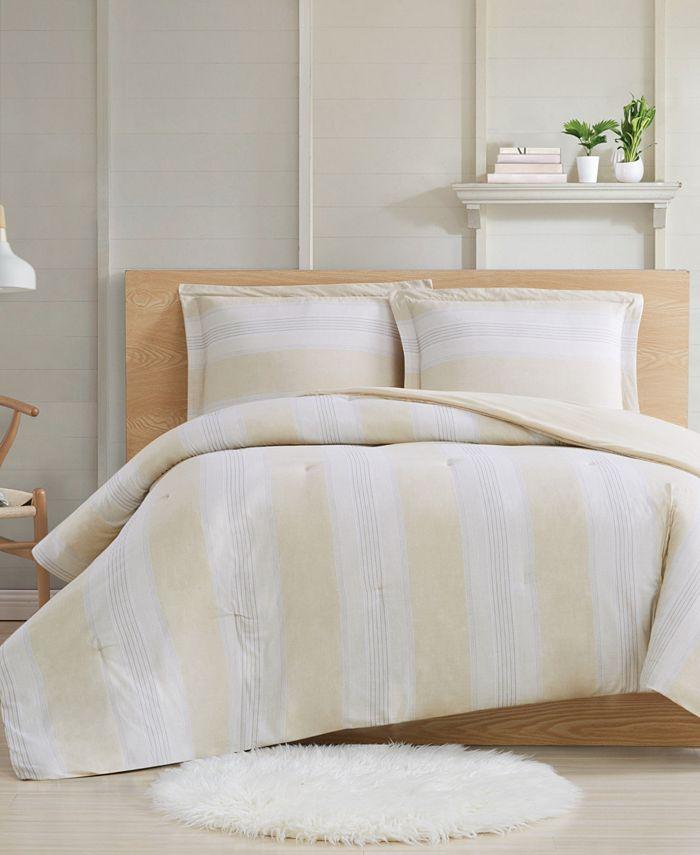 Cottage Classics - Farmhouse Stripe 3-Piece King Comforter Set