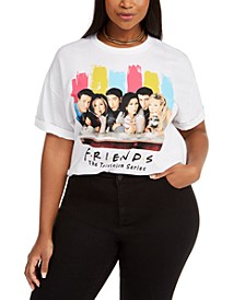 Trendy Plus Size Friends Group Shot T-Shirt, Created For Macy's