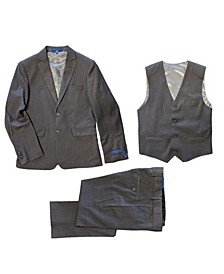Big Boys Slim Fit 3-Piece All Occasion Suits