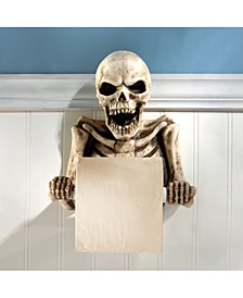 Bone Dry Skeleton Bathroom Toilet Paper Holder