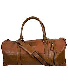 Leather Mini Duffle Bag