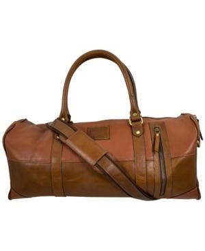 Leather Mini Duffle Bag