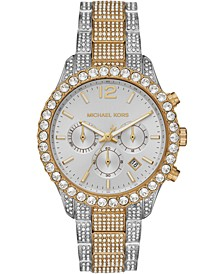 Women's Chronograph Layton Two-Tone Stainless Steel Bracelet Watch 42mm