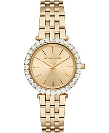 Women's Darci Gold-Tone Stainless Steel Bracelet Watch 34mm