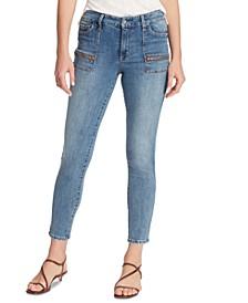 Social Standard Utility Women's Skinny Ankle Jeans
