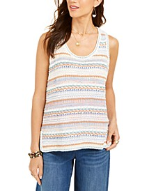 Crochet Tank Top, Created for Macy's