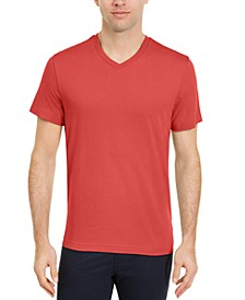 Men's Solid V-Neck T-Shirt, Created for Macy's